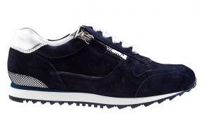 Hassia 30 1919-3276 blau Veoursleder Sneaker