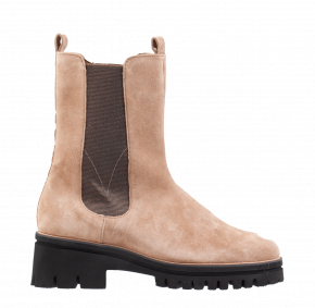 Hassia 2-30-6322 H taupe Veloursleder Stiefel