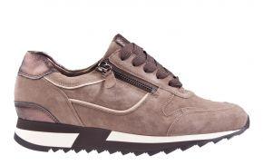 Hassia 1822-1999 taupe Veloursleder Sneaker