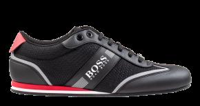 Hugo Boss 50370438 Lighter Lowp mxme schwarz rot Sneaker