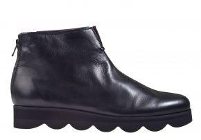 La Cabala L 738508 schwarz Leder Stieflelette