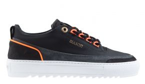 Mason Garments Firenze 14C Reflective Black/Asfalto/Fluo Orange Sneaker