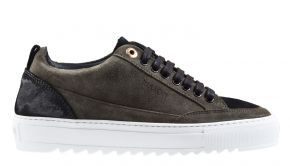Mason Garments Tia 23A Suede/Reflective Forest/Black Sneaker