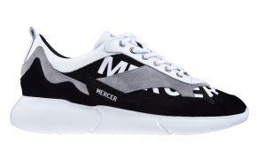 Mercer Amsterdam ME0274201292 W3RD Printed Mesh schwarz weiß Sneaker