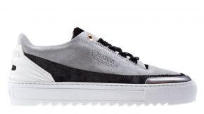 Mason Garments Firenze 11C Suede/Reflective Cement/Black Sneaker