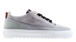 Mason Garments Firenze 15B Leather Nubuck grey/black Sneaker.