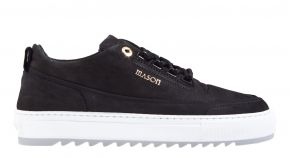 Mason Garments Firenze 4D nubuck black/grey Sneaker