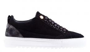 Mason Garments Tia 23D  Suede/Reflective Black Sneaker.