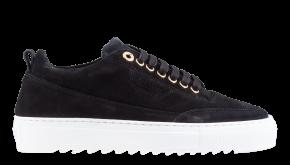 Mason Garments Torino 26B Veloursleder black Sneaker