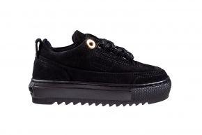 Mason Garments Kids Firenze NOS 3A Suéde Black Sneaker