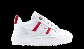 Mason Garments Kids Tia 17B weiß rot Sneaker