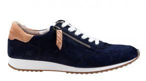 Paul Green 4979-108 blau Veloursleder Sneaker