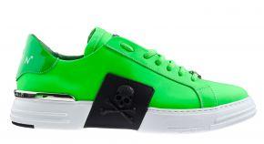 Philipp Plein MSC2853 grün Lo-Top Sneaker