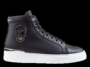 Philipp Plein MSC 3134 zwart Hi-Top Sneakers Skull