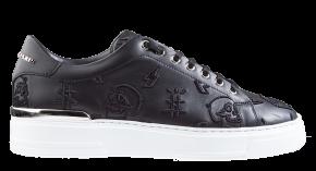 Philipp Plein MSC 3148 zwart Lo-Top Sneakers Embroidered Monogram