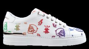 Philipp Plein MSC 3150 multicolor wit Lo-Top Sneakers Colorful Monogram
