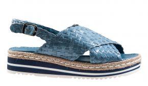 Pons Quintana 9093 jeans blau Sandale