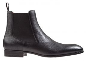 Santoni MGSI-13414 schwarz Chelsea Stiefel