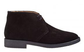 Soldini 17671 schwarz veloursleder Desert Boot.