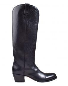 Sendra 8841 schwarz Leder Stiefel.