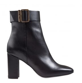 Tommy Hilfiger Basic Square Toe Boot schwarz Stiefelette
