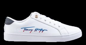 Tommy Hilfiger Signature Capsule weiß Schnürschuhe