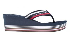 Tommy Hilfiger Stripy Wedge Beach Sandal