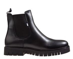 Tommy Hilfiger warm lined chelsea boot schwarz Stiefelette