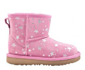 UGG Classic mini ll Star rose Stiefel
