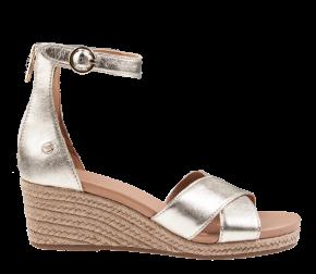 UGG Eugenia Gold Metallic Sandale