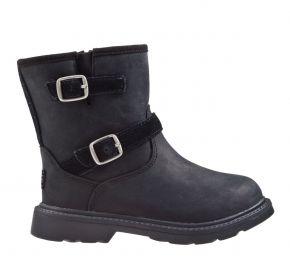 UGG Kinzey schwarz nubuck Stiefel