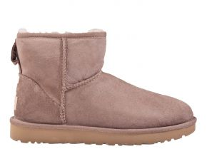 UGG Classic mini ll taupe Stiefel.