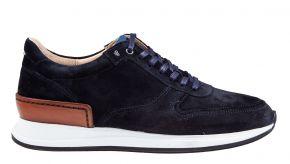 Van Bommel 16334/04 G1/2 blau Veloursleder Sneaker
