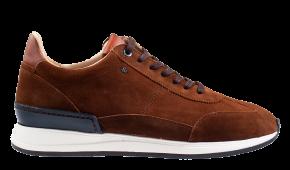 Van Bommel 16336/07 G1/2 cognac Veloursleder Sneaker
